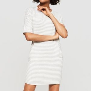 Lou and Grey Signature Striped Dolman Sleeve Dress